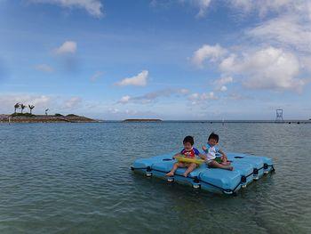 子供たちのお気に入り島