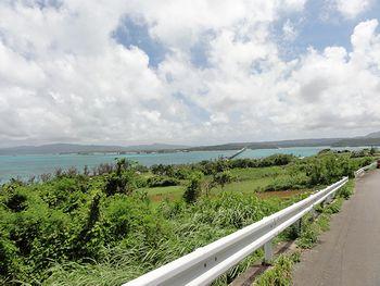 こうり島をドライブ