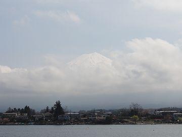 一瞬だけ観れた富士山