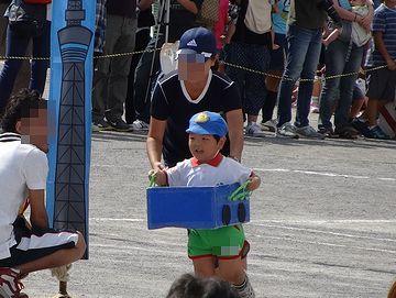 年少さんの親子競技