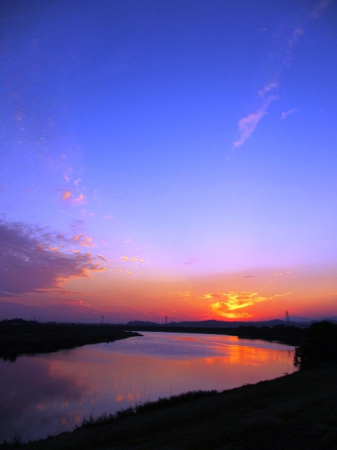 夕焼け2012.10.14.JPG