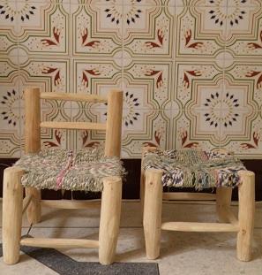 モロッコ 椅子