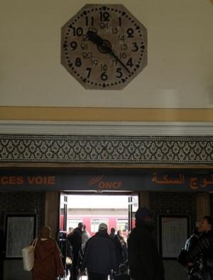 モロッコ カサブランカ駅
