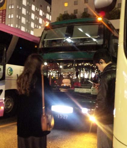 名古屋行き高速バス