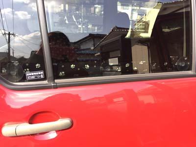手作り車内内装犬爪傷防止カバー