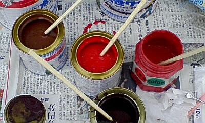 左上からコーヒーブラウン レッド 赤 チョコレート 120827.jpg