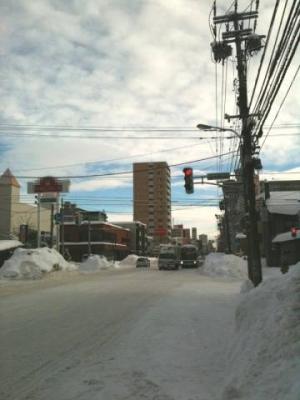 【北海道】札幌でー13.5℃ こんなところに200万人も住んでいる