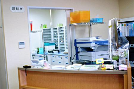 サルビア調剤薬局の調剤室