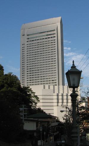 クラウンプラザ神戸(旧 新神戸オリエンタルホテル)