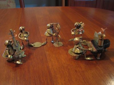 真鍮の楽隊