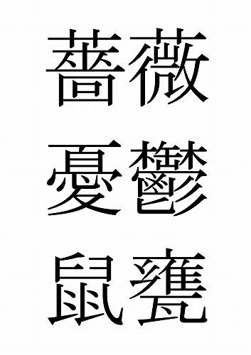 書けない漢字