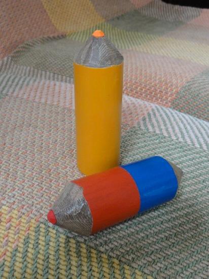 色鉛筆完成