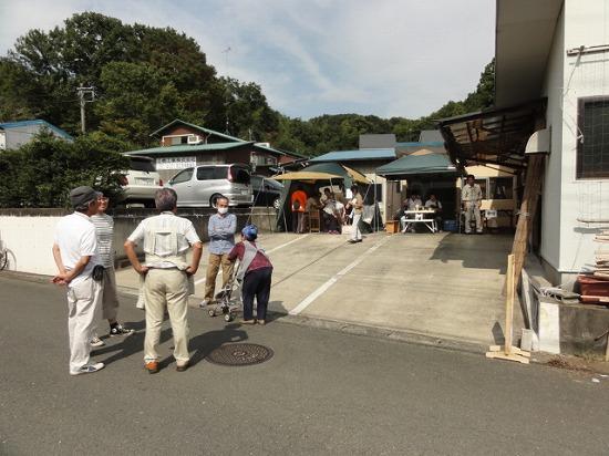 寺家木工舎展2014初日