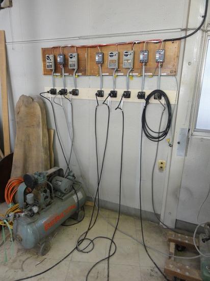 電気工事完了