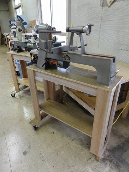 木工旋盤台