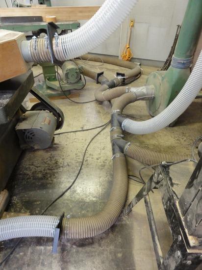 集塵システム完成