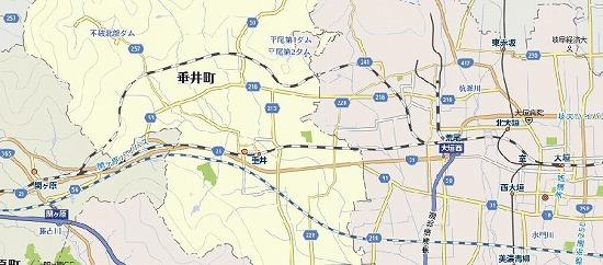 垂井駅前後