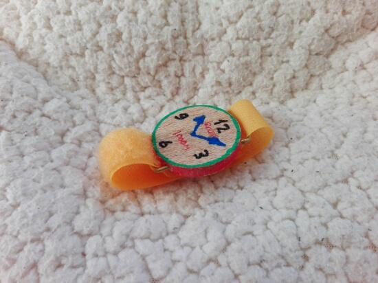 腕時計の試作
