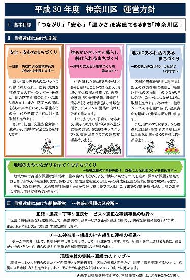 神奈川区運営方針