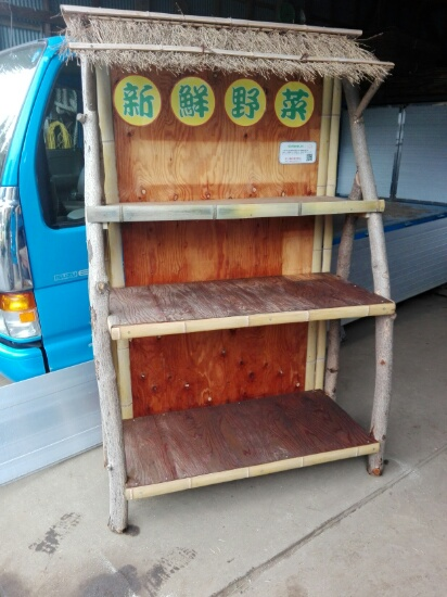 野菜販売台