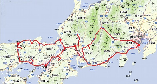 東海、関西