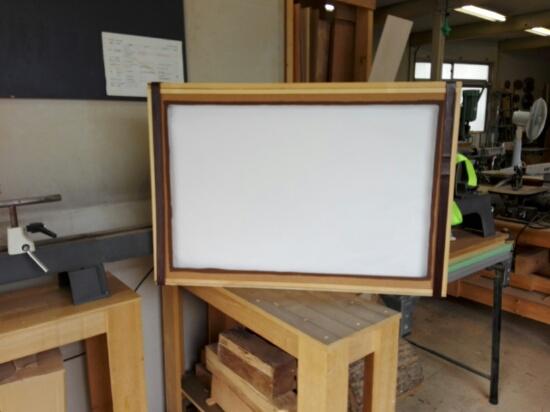 紙芝居の木枠