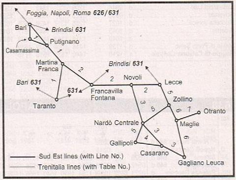 FSE路線図