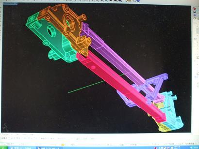 アセンブリー3Dモデル