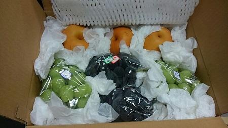 長野からのフルーツ