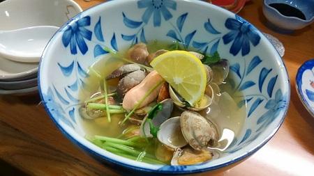 あさりと鯛の子の煮物