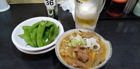 枝豆ともつ煮