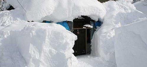 信州田舎暮らし 豪雪