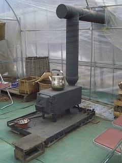 信州田舎暮らし 薪ストーブ