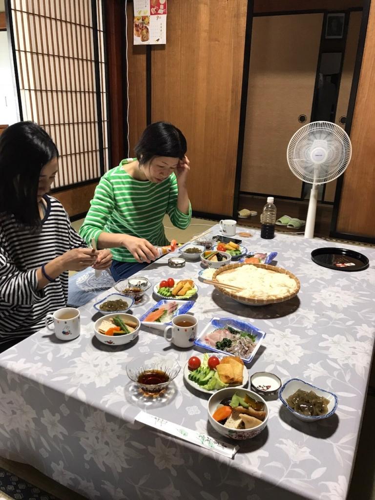 収穫旅行_昼食