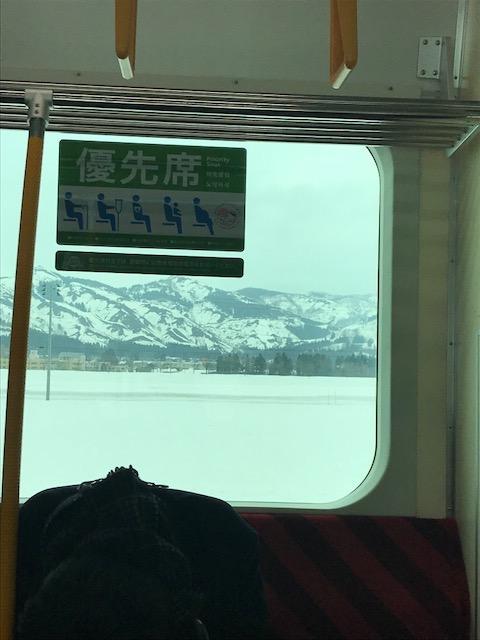 湯沢_車窓