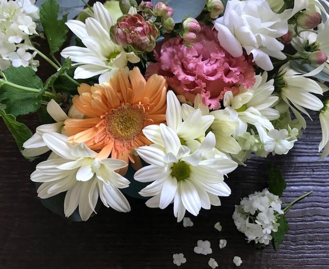 お花の始末
