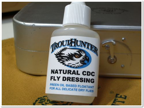 TROUT HUNTER CDC PREEN OIL フロータント