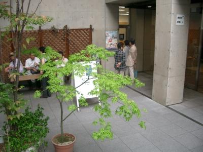 一心寺シアター入口