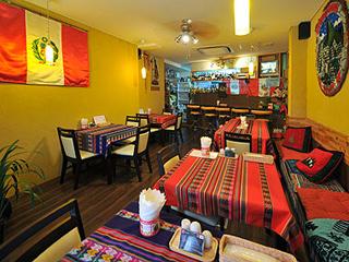 ペルー料理レストランMiski 店内