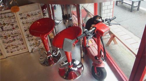 小型バイク RED[DAMMTRAX 直営店]