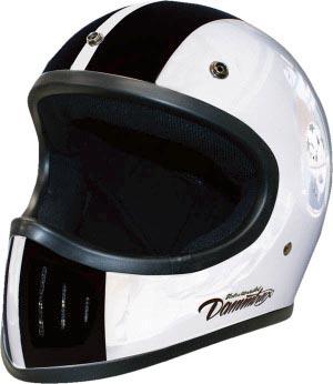 ダムトラックス(DAMMTRAX) ヘルメット THE BLASTER コブラ WH フリーサイズ(57CM~60CM未満)