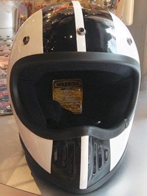 潜入探偵トカゲで実際に使用したヘルメット[DAMMTRAX BLASTER COBRA]