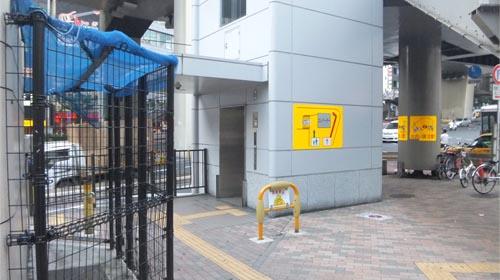 エレベーター 渋谷駅 西口