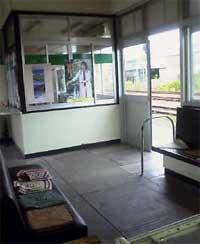 珠洲駅待合室