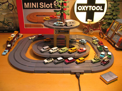 Table slot cars
