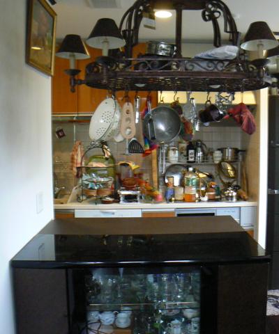 キッチンカウンター天板設置前