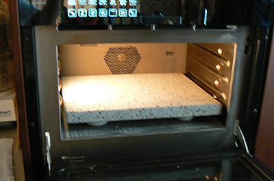 電気オーブンに入れる石の板
