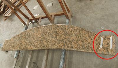 御影石キッチン天板