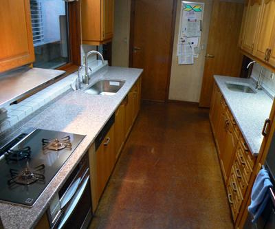 キッチンリフォーム 天板交換