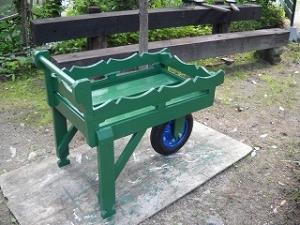 1輪車(移動できるプランタン)
